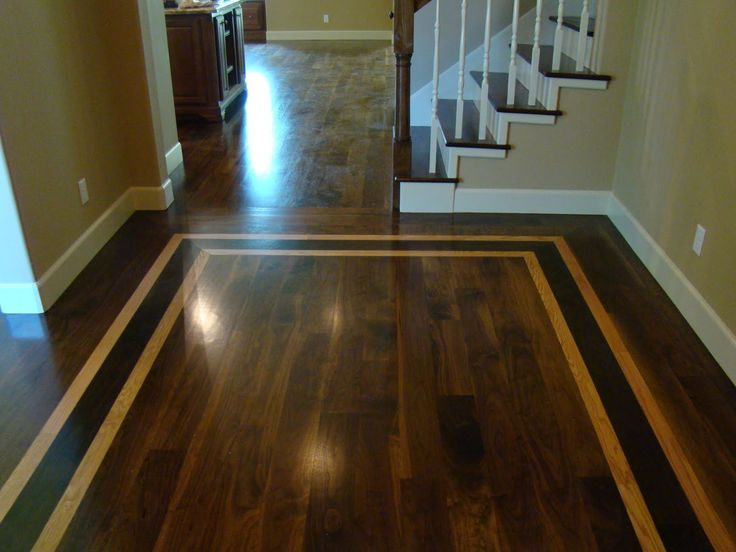 17 best images about hardwood floor inlays on pinterest for Inlaid wood floor designs