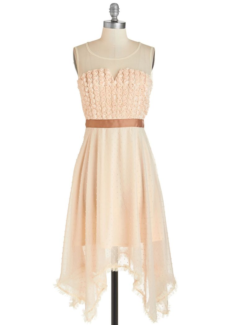 Rosette Yourself Apart Dress, #ModCloth