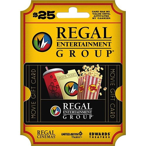 Regal Entertainment Group - $25 Gift Card - Multi - Larger Front