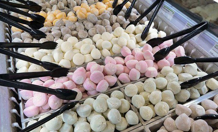 Mochi ijs   Verkrijgbaar bij de Whole Foods Markets