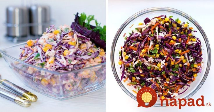 Vynikajúce spojenie zeleniny, petržlenu aľahkej jogurtovo-horčičnej zálievky. Navyše súžasnou auž na prvý pohľad lákavou farbou.