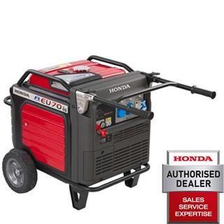 Honda EU70iS Super-Silent Inverter Generator. Successor to the EU65. (Kelvin Power Tools)