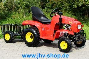 Quad, Buggy, Bikes, Trikes,Kinderquadbahn,  Eventartikel und mehr - Kindertraktor 110 cc mit Anhänger