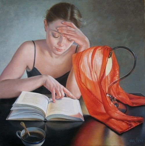 Francine Van Hove - there's a lot of love, care, lust as well as doting involved with this painting.