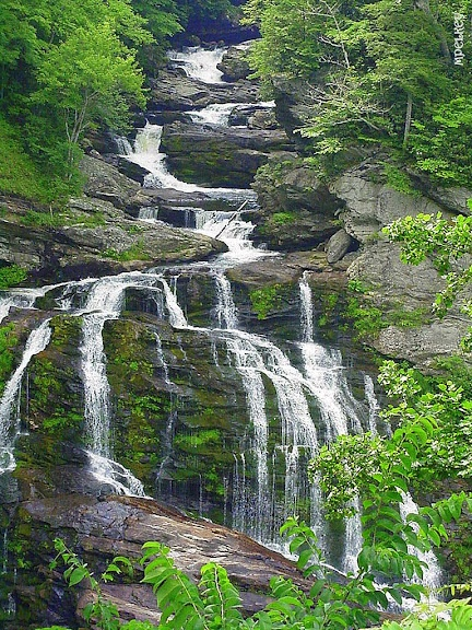 Cullasaja Falls, Highlands, NC - Photo by: MPelkey