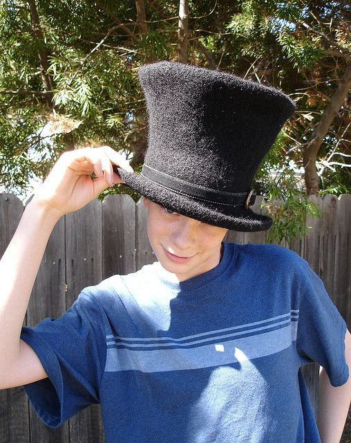 Knitting Pattern Top Hat : 72 best images about Knit Felt Hats on Pinterest Bucket hat, Roll on and Qu...