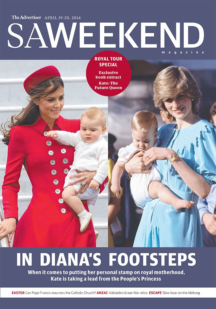 saweekend magazine - the royal edition. April 19 Issue 2014. #Adelaide