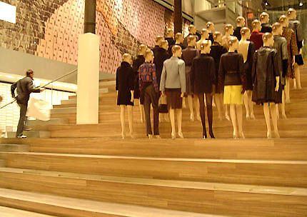 Prada store designed by Rem Koolhaas