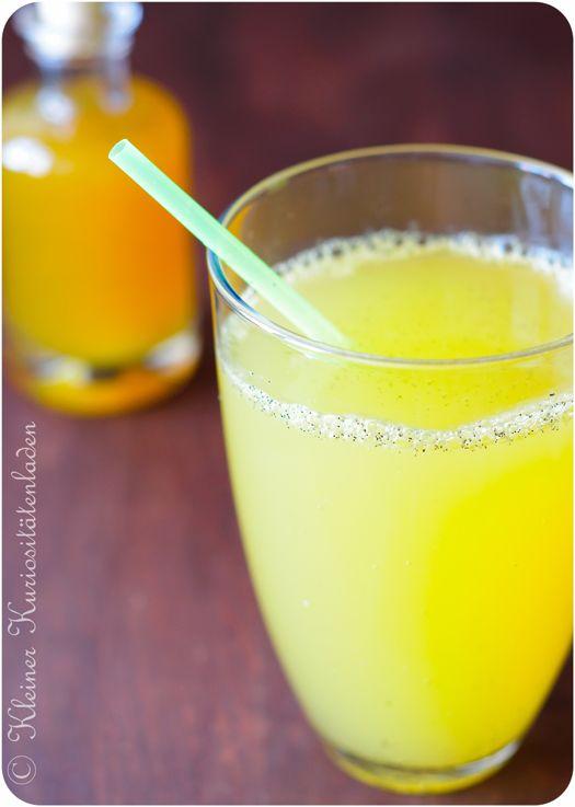 Orangen-Kardamom-Sirup oder Fanta in lecker   Kleiner Kuriositätenladen