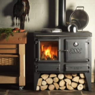 My dream wood-stove heat the house, warm water and cook dinner in the oven all off the grid!