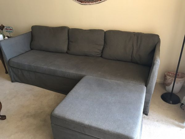Ikea Sofa Bed Grey Green Sleeper Sectional Brathult 3 Seat As New For Sale In Las Vegas Nv Offerup Ikea Sofa Bed Grey Sofa Bed Ikea Sofa