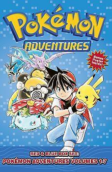 Pokemon Adventures: Box Set 1 Red & Blue Manga Vol. 1-7