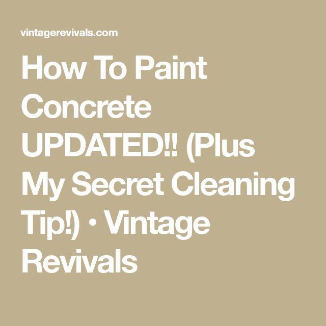how to clean paint off basement floor