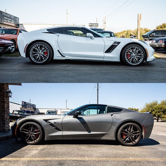 Top Or Bottom C7 Z06 Vs C7 Stingray