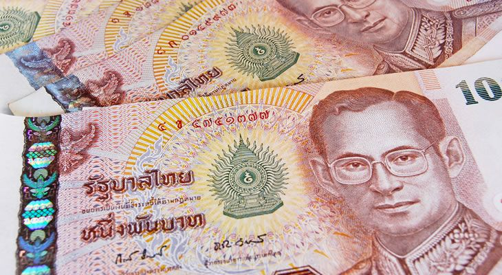 Thailand Currency Thai Baht Thb Exchange Rate Pound Sterling