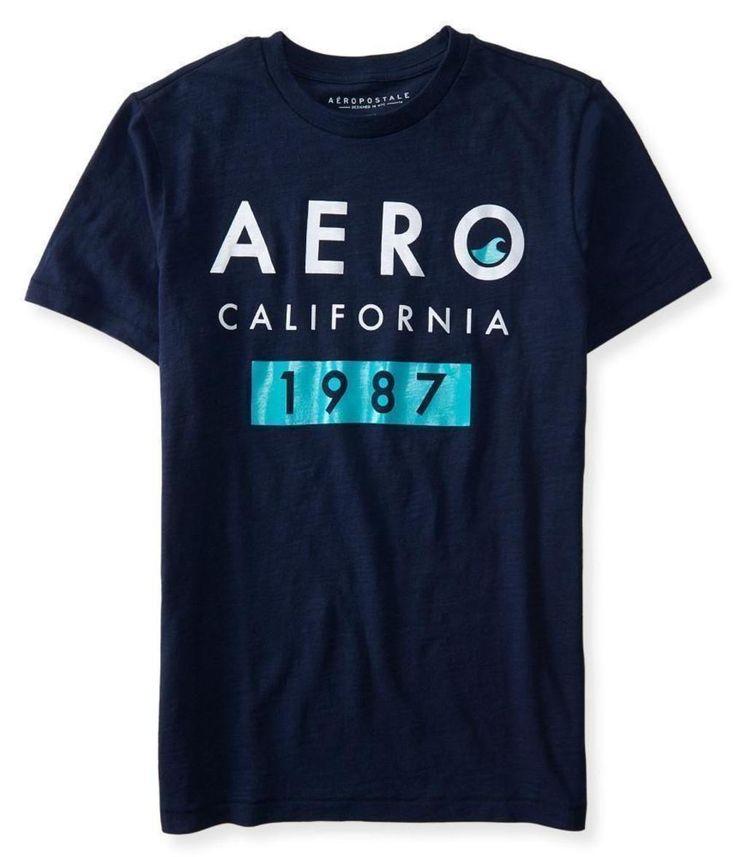 Camiseta Aeropostale Mascuina AERO CALIFORNIA - Marinho