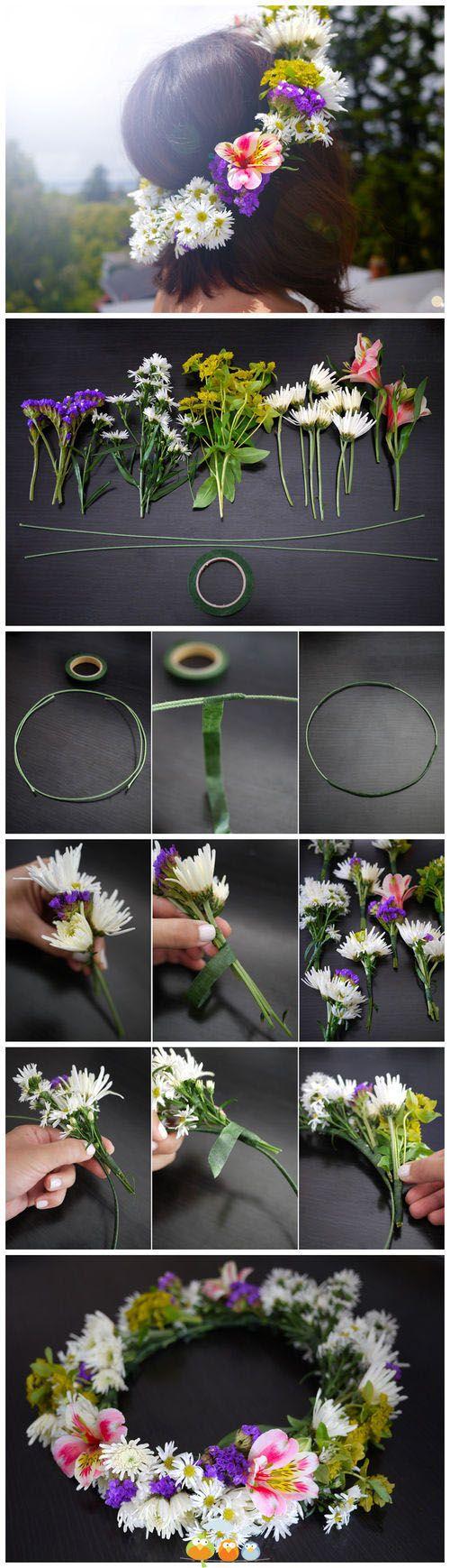 Me encantan las coronitas de flores                                                                                                                                                     Más