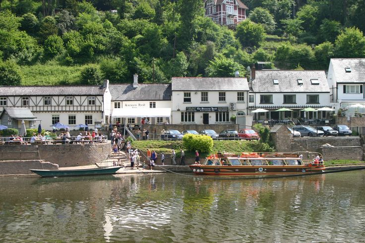 Symonds Yat is a village in the Forest of Dean, straddling the River Wye