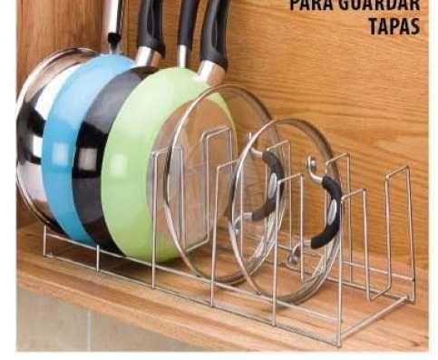 Organizador de  tapaderas, de Ikea
