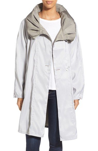 Mycra Pac Designer Wear Reversible Pleat Hood Packable Travel Coat available at #Nordstrom