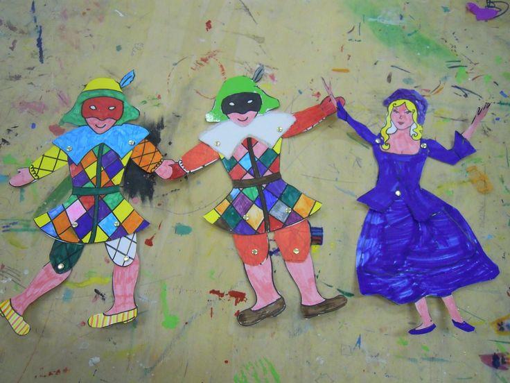 Arlecchino e Colombina … le marionette di... - Creando si cresce e crescendo si crea