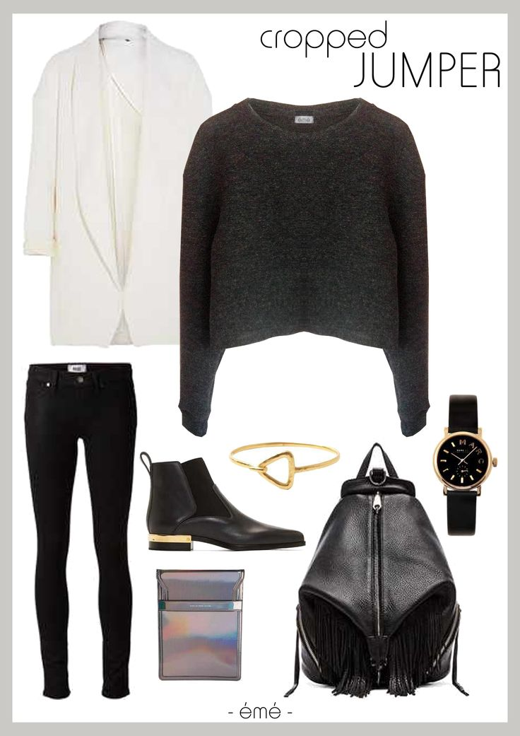 Style tip - rothko cropped jumper