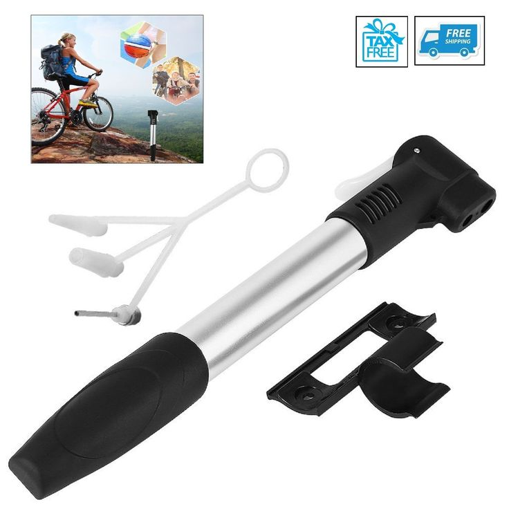 Portable Mini Bike Pump Frame Mounting Air Cycle Inflator Tire Tyre Bycicle Ball