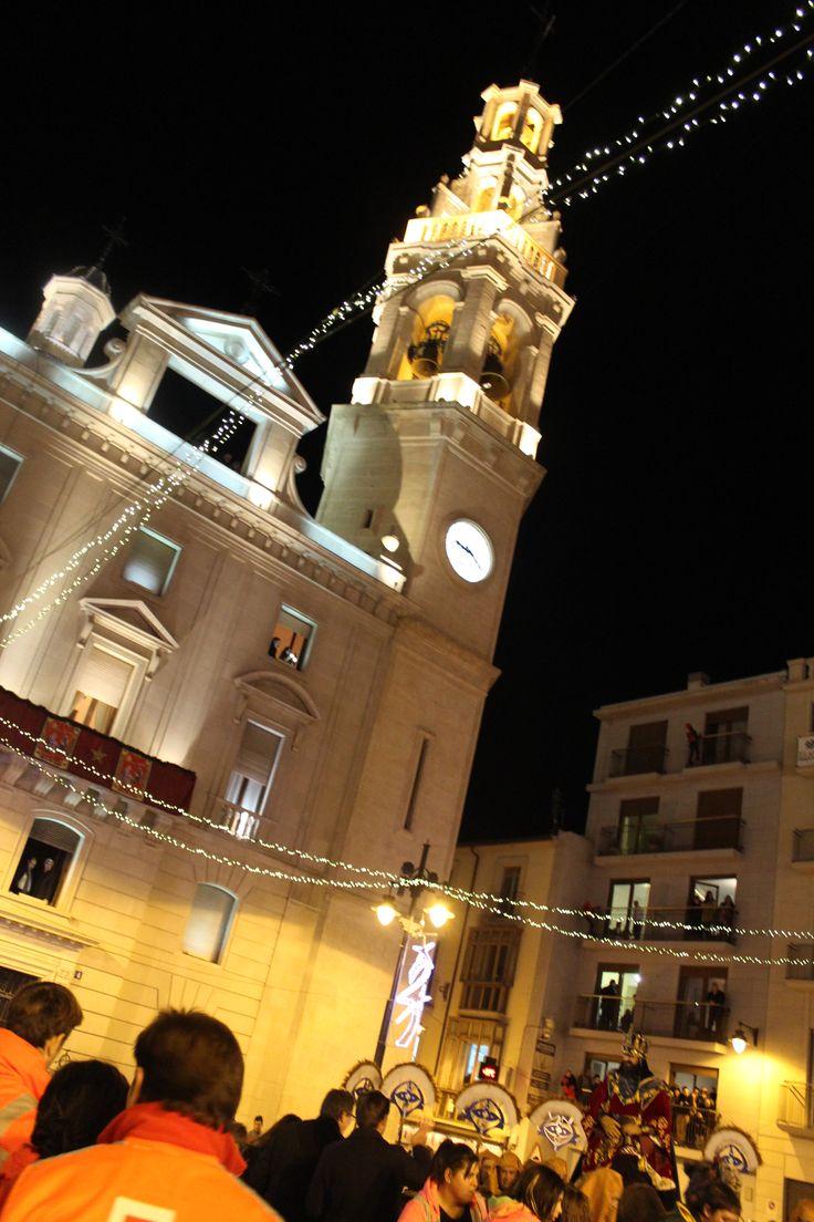 El campanar plaza España Alcoi