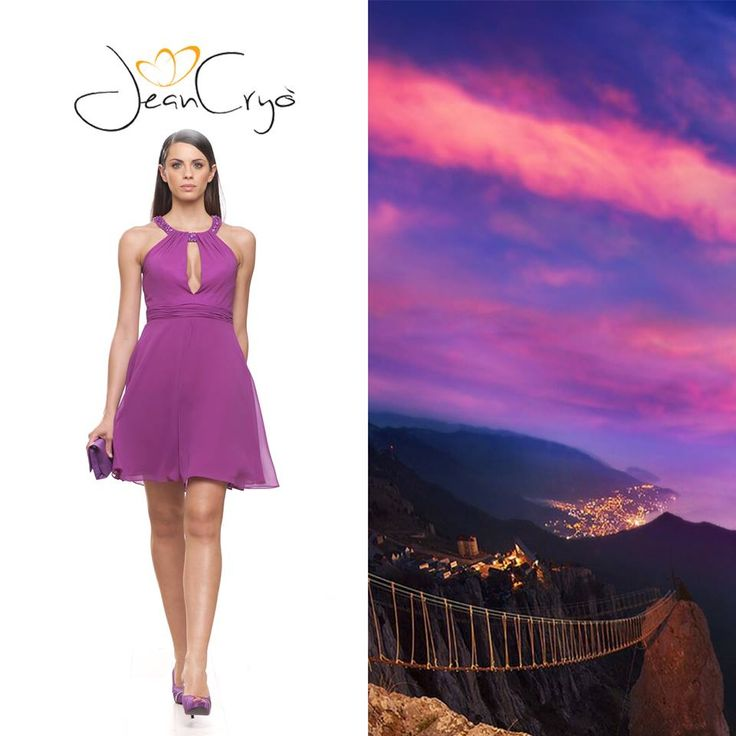 #violet #orchid #ispiration #trends #ideas #doll  #minidress
