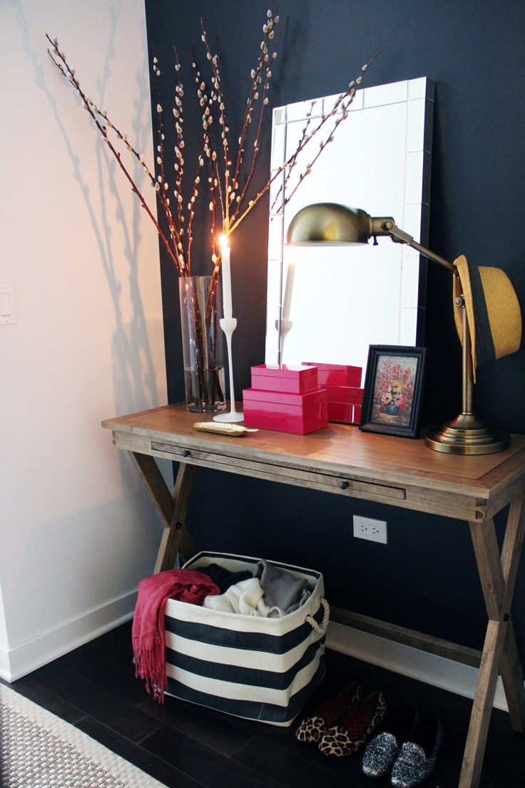 The Everygirl: How to to Style an Entryway
