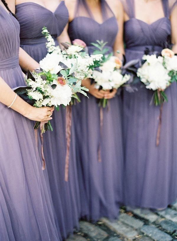 The Loveliest Lavender Wedding Ideas You Should See - bridesmaid dresses; Jen Huang Photography