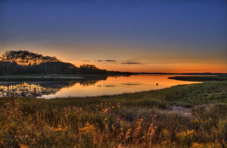 Sunset from shore. From 500px.com via @Lauren
