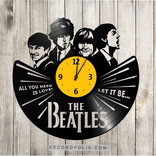312 best Vinyl record wall clocks S-interiors images on Pinterest ...