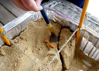 Mini Archaeological Dig craft - very cool complete with record sheets for recording your finds.