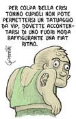 """Vignetta per """"il Misfatto"""". Disegno digitale."""