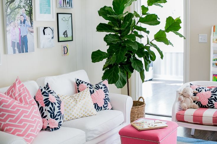 ... my living room. Navy Shades, Living Rooms, Style, White Sofas, Home