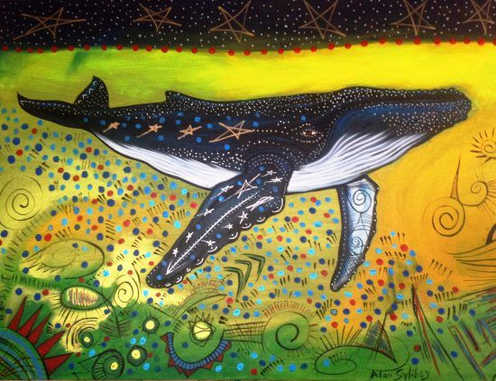 Ancient Mi'kmaq petroglyphs spring to life thanks to artist Alan Syliboy.