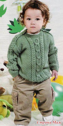 Сочная зелень - Вязание для детей - Страна Мам