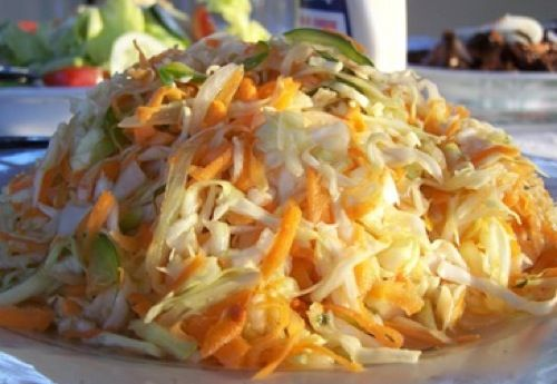 The Pikliz is spicy crunchy salad typically served as a side dish at Haitian meals. Pikliz is often used in marinades or to give dishes a spicy-sour punch.
