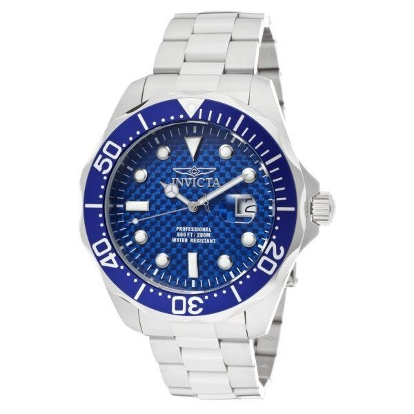 Item specifics     Condition:        New with tags: A brand-new, unused, unopened, undamaged item in its original packaging (where packaging is    ... - #Watches https://lastreviews.net/fashion/mens/watches/invicta-mens-pro-diver-analog-quartz-200m-stainless-steel-watch-12563/