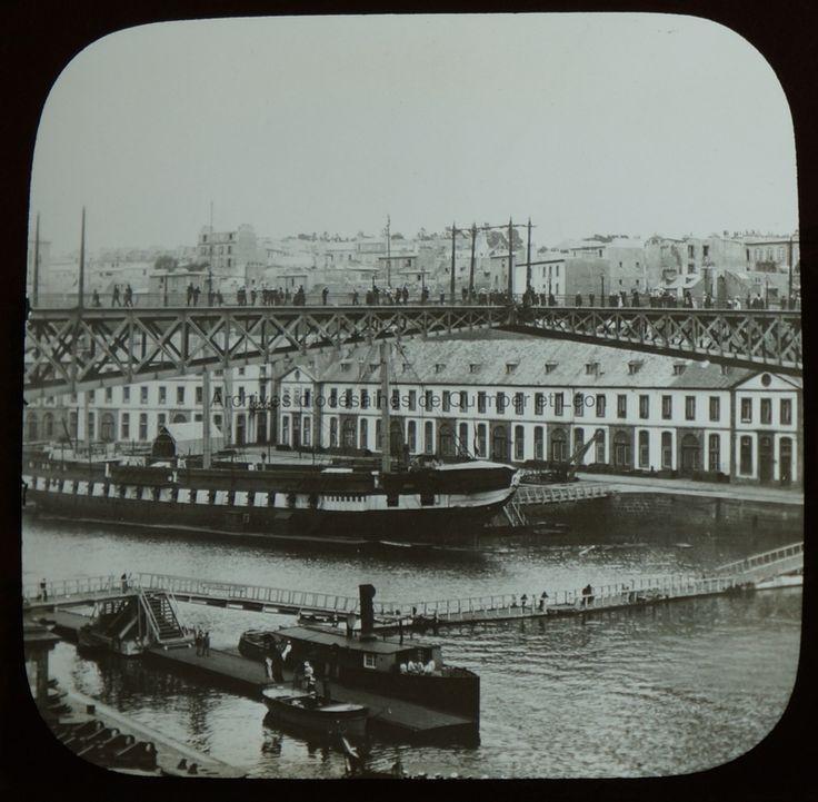 Brest. Le pont tournant |