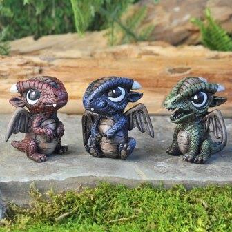 Fairy Garden Miniature Baby Dragons. SHOP now $5.99