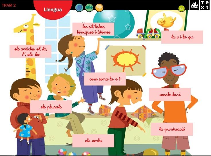 Aplicació que ens ofereix la possibilitat de realitzar diferents exercicis d'ortografia. Es treballen els articles, les síl.labes, els plurals, com sona la r, vocabulari, la puntuació, la c i la q i els verbs.