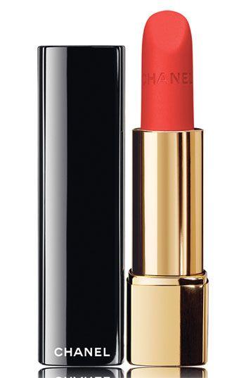 La Favorite Rouge Allure Velvet Luminous Matte Lip Color by Chanel.