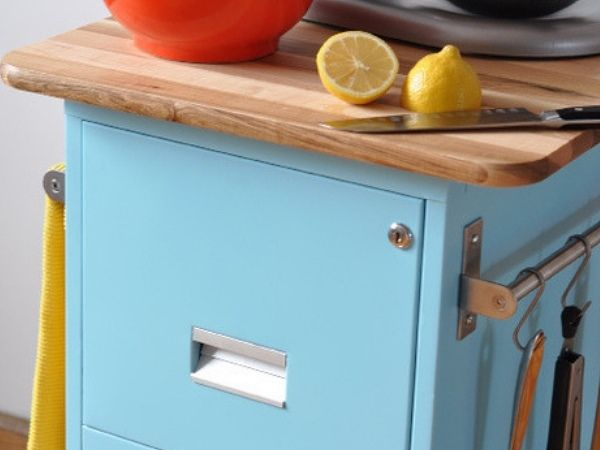 From Filing Cabinet to Kitchen Drawers