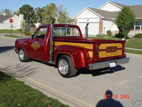 Pinned From Dodge Warlock Lil Red Express Wagon Facebook Page Trucks Pinterest And