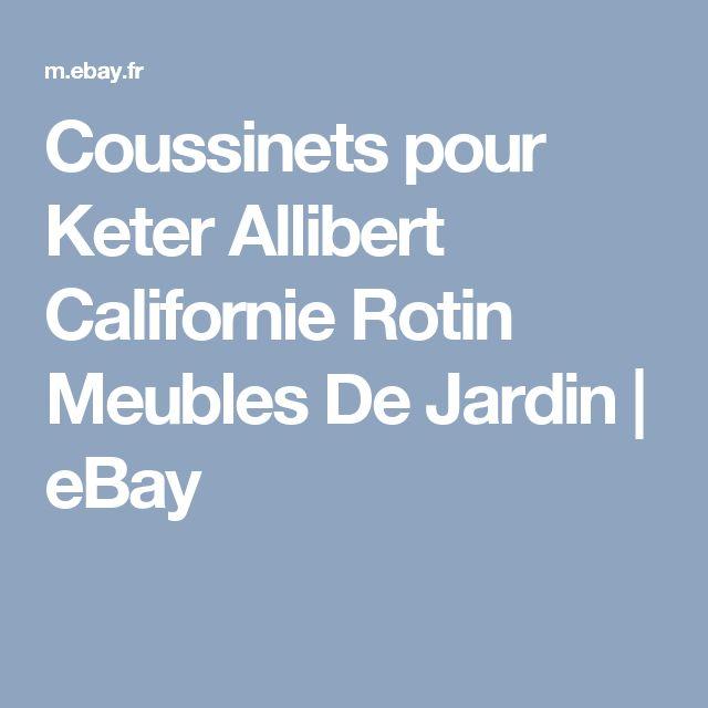Coussinets pour Keter Allibert Californie Rotin Meubles De Jardin | eBay