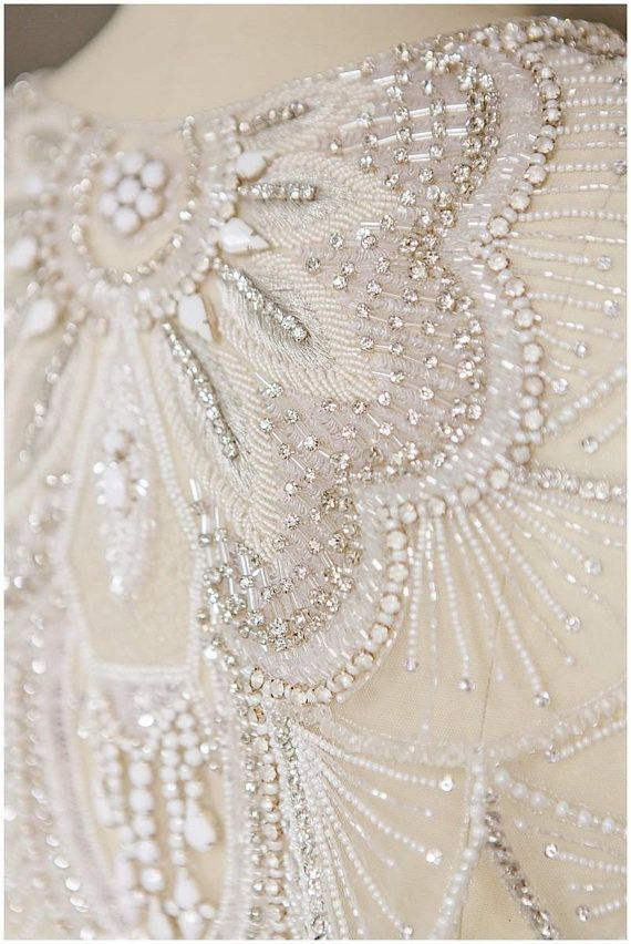Gorgeous Beading Work On Wedding Dress Amazing Tambour Beading Couture Beading Bead Embroidery Patterns,Soft Pink Wedding Dresses
