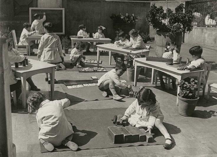 Escuela Montessori, 1932. Barcelona.