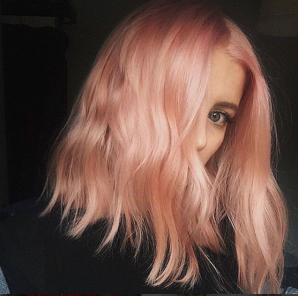 """Blorange"" Is The Latest Hair Color Trend To Sweep Instagram — & It's Even Better Than Rosé+#refinery29"